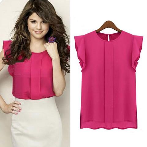 blusa rosa talla 40